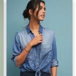 Cloth & Stone Chambray Button Down Shirt